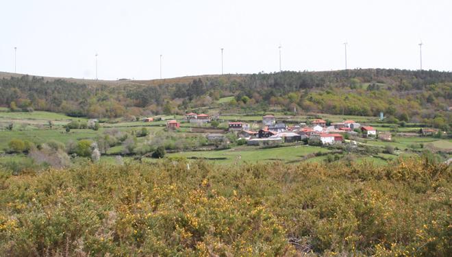 Vistas do lugar de Zobra.