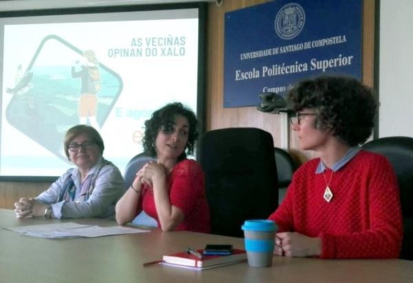 Beatriz, Laura e Pilar