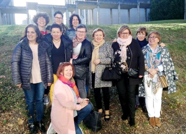 As veciñas participantes no proxecto do Monte Xalo