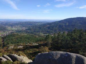 Vistas desde o monte Xalo