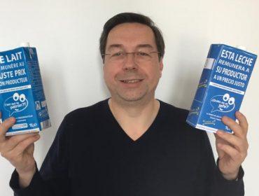"""""""La distribución ya está interesada en vender en España la leche de ¿Quien es el jefe?"""""""