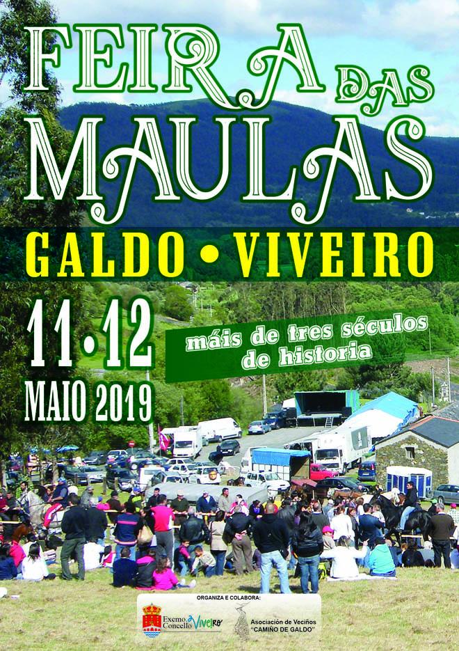 cartel Feira das Maulas 2019