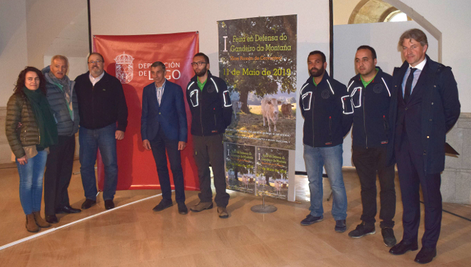 Cervantes celebra este sábado a I Feira en Defensa do Gandeiro de Montaña