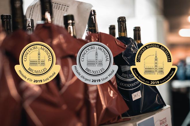 Éxito dos viños galegos no Concurso Mundial de Bruxelas