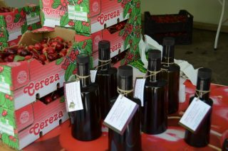 As cereixas e o aceite, protagonistas de novo esta fin de semana en Ribas de Sil