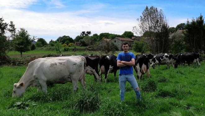 Dúas ganderías modelo na mellora de graxa e proteína do leite