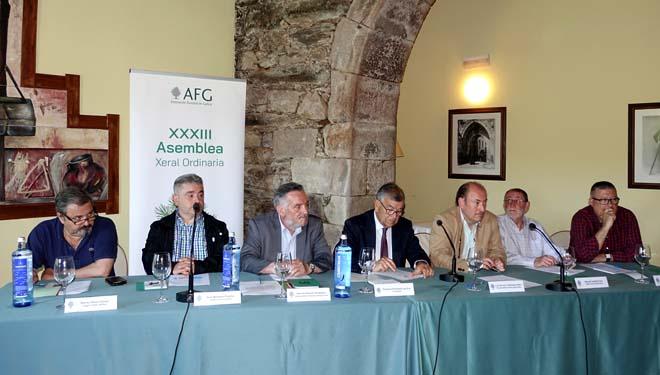 Xunta de Goberno da Asociación Forestal de Galicia na súa Asemblea Xeral.
