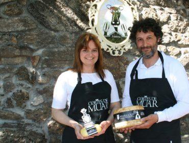 Cortes de Muar, artesáns do queixo dende o prado á mesa