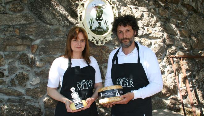 Cortes de Muar, artesanos del queso desde el prado a la mesa