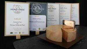 Algunos de los premios que llevan recogidos nos últimos años.
