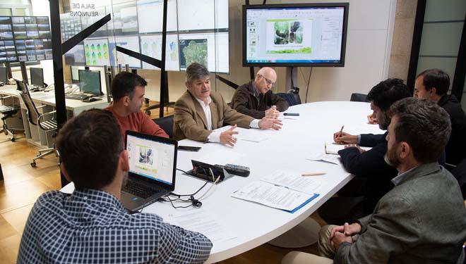 Reunión da Xunta con FSC.