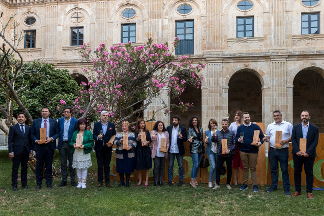 El Ribeiro reivindica el buen momento de sus vinos en la entrega de los premios de la D.O.