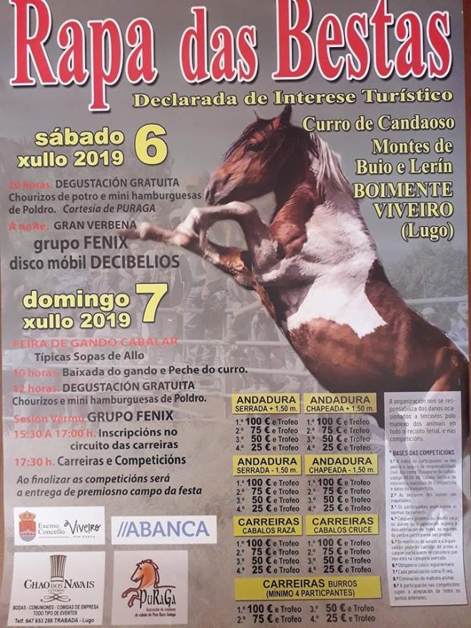 cartel Rapa de Candaoso 2019