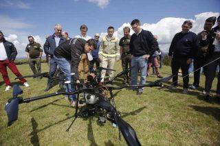 A Xunta incorpora drons ó servizo de incendios forestais