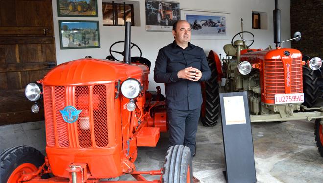 Inauguran en Láncara un museo sobre la maquinaria agraria
