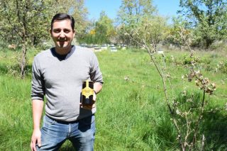 Mel Nogueira-Conde: Un exemplo do boom da apicultura na montaña ourensá