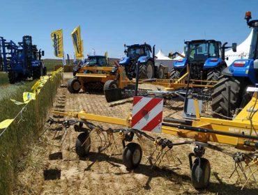 New Holland presentou en Demoagro as súas gamas de forraxe e agricultura de precisión