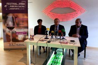 Vintecinco adegas participarán a primeira fin de semana de xullo en Monforte no Festival do Viño da Ribeira Sacra