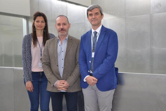 Equipo da Universidade de Vigo que participa na investigación