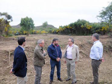 Comienzan los trabajos para poner en producción 250 hectáreas abandonadas de Cualedro