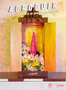 Cartel da VI edición do festival Agrocuir da Ulloa.
