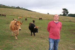 """""""Comecei a sentirme valorado como gandeiro cando empezamos a comercializar nós a carne"""""""