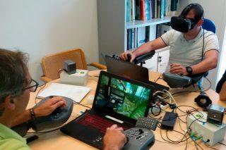 Formación con realidad virtual para el manejo de maquinaria forestal