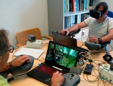 Formación con realidade virtual para o manexo de maquinaria forestal