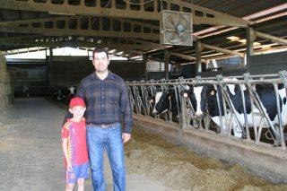 Gandería Fraga, unha granxa de vacas 'excelentes'
