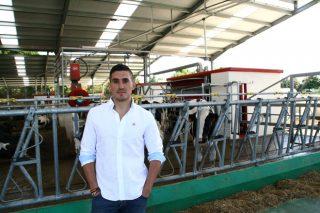 SAT A Campa, muxido robotizado de Holstein e Jersey