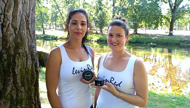 LevinRed, cosmética natural elaborada con viño do Ribeiro