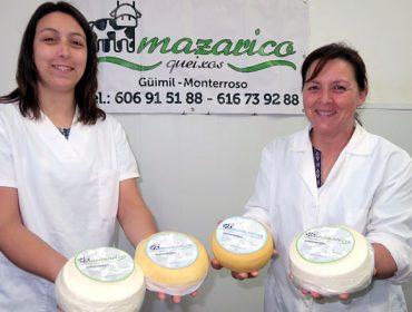 Mazarico, un queixo fresco único feito en Monterroso