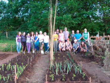 Poñen en marcha un proxecto para adaptar as hortas ó cambio climático