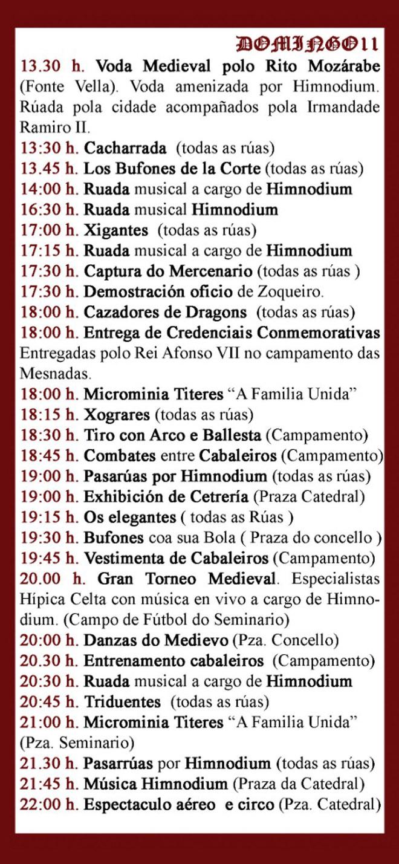 cartel mercado medieval Mondoñedo 2019-3
