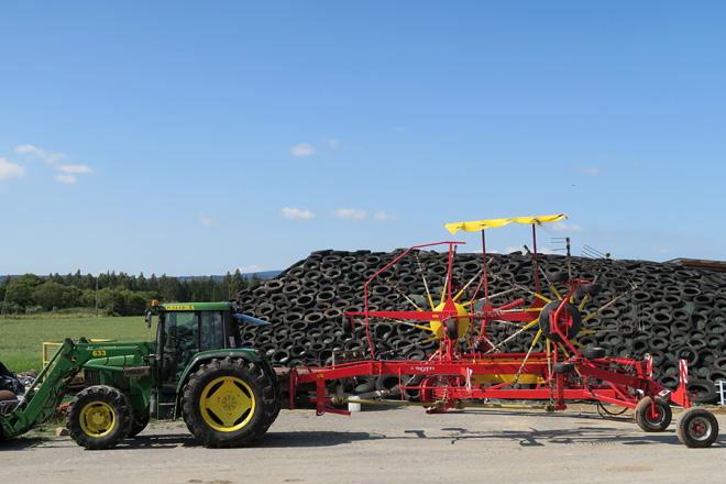 Agricultura subvenciona o custo dos avais para a compra de maquinaria agrícola