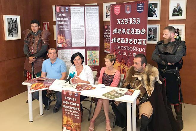 presentacion Mercado Medieval 2019 en Santiago