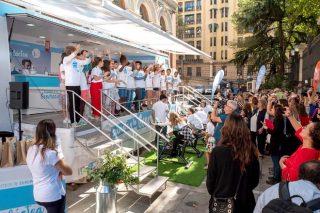 A Inteprofesional lanza a campaña 'Generación Láctea', que percorrerá 30 cidades de España