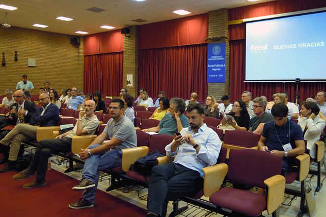 Algúns dos asistentes ao XII Congreso de Economía Agraria celebrado esta semana en Lugo