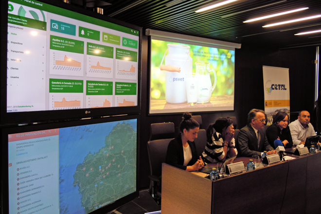 Presentación dos resultados do proxecto, onte nas instalacións do CETAL en Lugo
