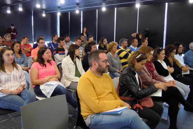 Público asistente á presentación dos resultados do proxecto de investigación