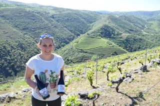 """""""Os socalcos do río Bibei é dos mellores lugares de Galicia para producir viño"""""""