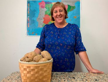 """""""A pataca galega é excelente para cocción, o que a diferencia da do resto de España"""""""