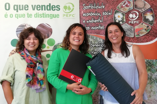 Pefc Galicia promueve el empleo de productos forestales procedentes de bosques sostenibles