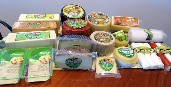 Gama de produtos de Queixerías Sarrianas
