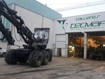 Tecmaf, un referente en España en adaptación e reparación de maquinaria forestal