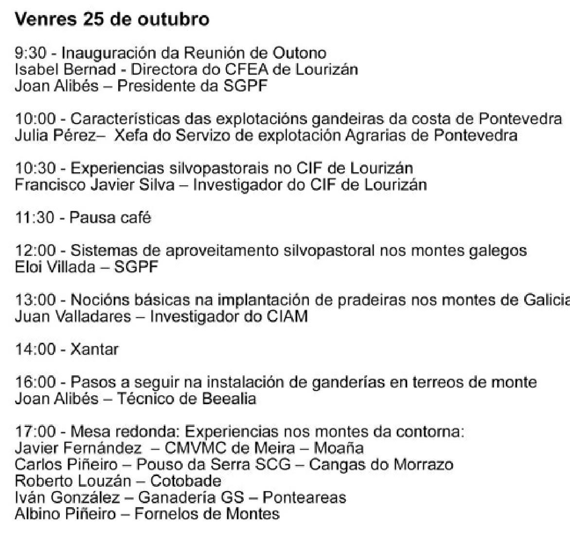 XORNADA OUTONO 19 SGPF 2