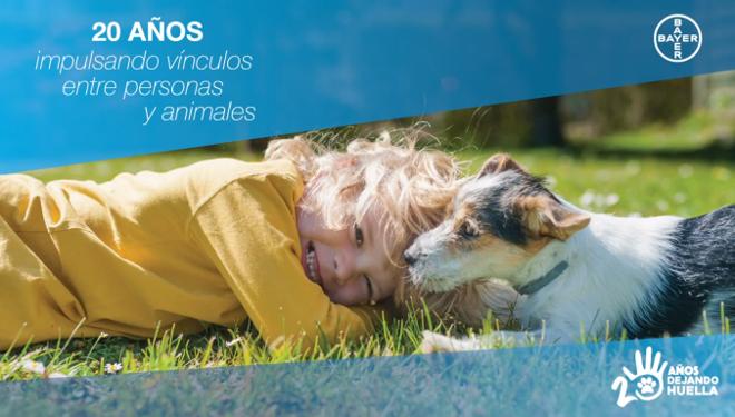 Programa de RSC de Bayer: 20 años impulsando vínculos entre personas y animales