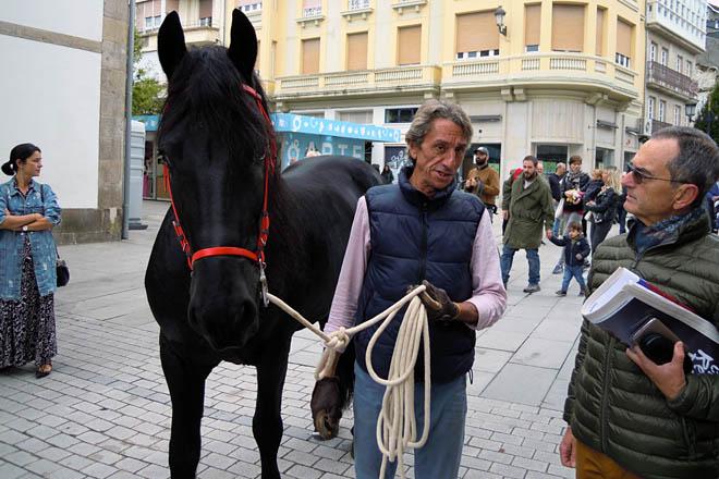 desfile Expolugo 2019 cabalo