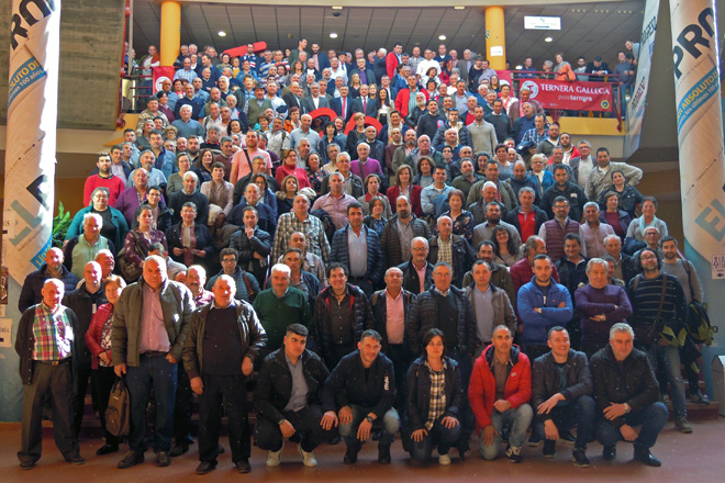 Á Xornada Técnica celebrada en Lugo asistiron case 400 gandeiros e gandeiras