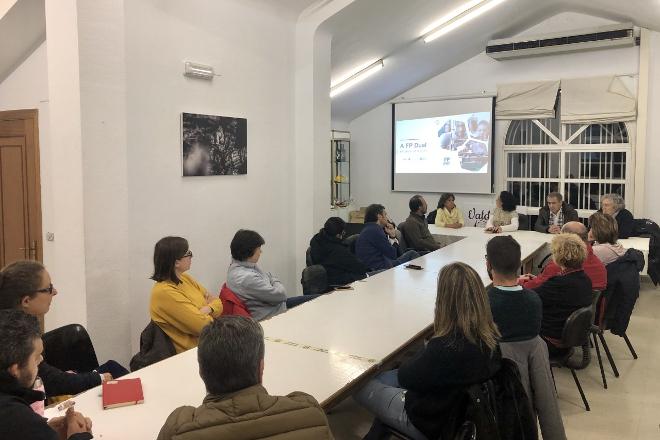 Valdeorras prevé contar cun ciclo de FP en vitivinicultura